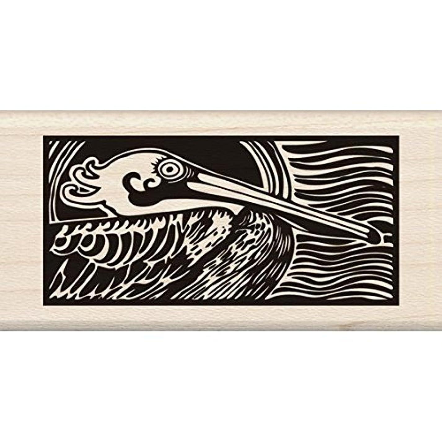 Inkadinkado Wood Stamp, Pelican qy71838862
