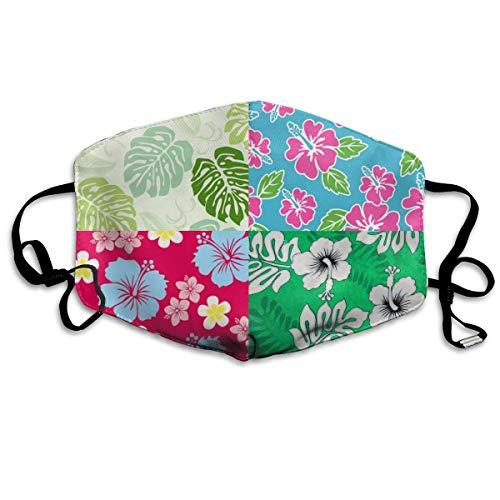 La mejor cubierta cálida a prueba de viento Cubre la boca Cubre boca para hombres Mujeres Varias flores