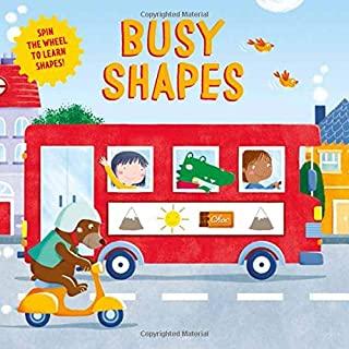 Busy Shapes: Spin the Wheel to Learn Shapes!