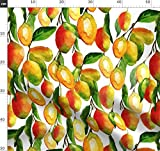 Mango, Tropisch, Früchte Stoffe - Individuell Bedruckt von