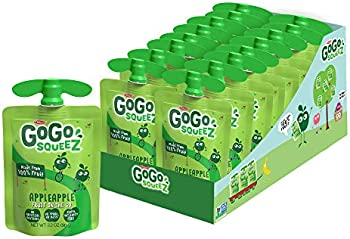 18-Count GoGo squeeZ Gluten Free Unsweetened Apple Sauce 3.2 Oz