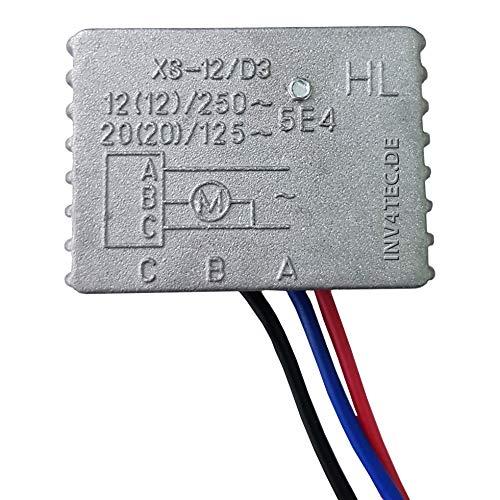 Modo de arranque suave 250 V 12 A.