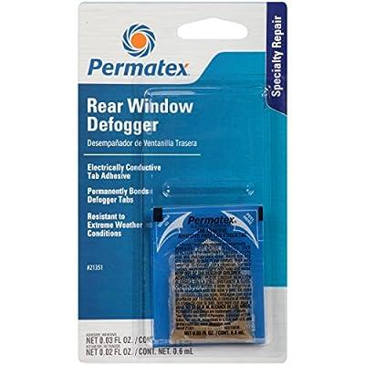 Permatex 21351 Electrically Conductive Rear Window Defogger Tab Adhesive