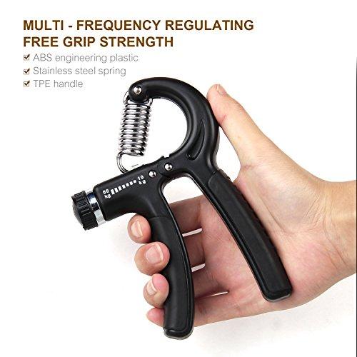 Handtrainer Fingerhantel Ergonomisch 5 verschiedenen Widerstandsstufen  Abbildung 2