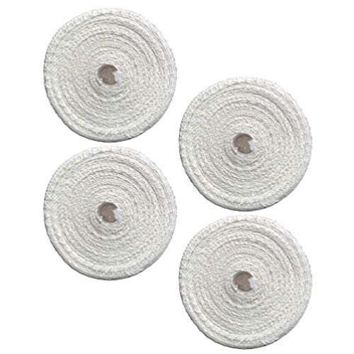 Cabilock 4Pcs Cotton Smoked Meat Poultry Ham Netting Roll Wrapping Net Meat Tying Roll for Meat Cooking (1m)
