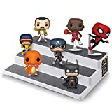 ASH BRAND Plastic Riser Display Stand Shelf for Figures, Toys or...