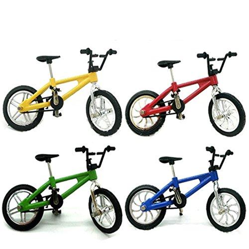 LoKauf 4er Miniatur Fahrrad Spielzeug Desktop Deko Kinder Geschenk Adventskalender Inhalt