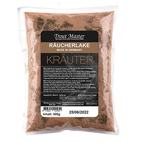 Spro Räucherlake Räucherlauge 500 g Kräuter