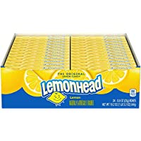24-Pack Lemonhead Candy 0.8 Ounce Box