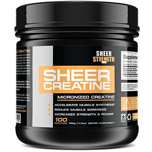 500g Micronized Creatine Monohydrat…
