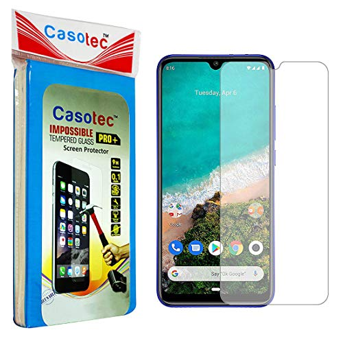 Casotec Hammer Proof Impossible Film Screen Protector [Not a Tempered Glass] Screen Guard for Xiaomi Mi A3