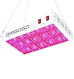 Dimgogo 3000W LED Grow Light, Double Chips Full Spectrum LED Plant Growing Lamps, with Bloom and Veg Switch, with IR for Indoor Plants Veg and Flower Hydroponics Greenhouse (10W LEDs 300Pcs)