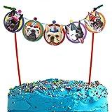 french bulldog birthday - French Bulldog Cake Garland, photographic dog birthday party decoration