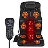 Naipo Car Seat Massage Cushion Back Massager Vibration Pad Cover for Back