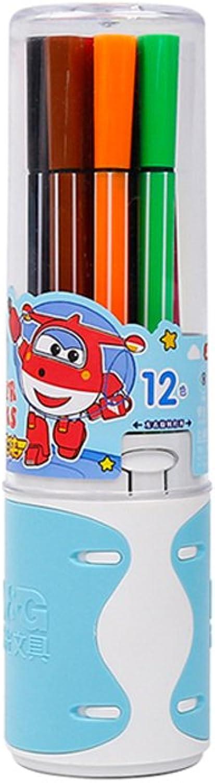 12 Stück Aquarell Stift kann mit Aquarelle, Kalligraphie, Malerei, Mischen gefüllt werden (Farbe   12 FarbeBlau) B07FN3TX73     | Gutes Design