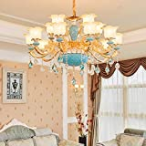 G0000D Chandelier Modern Foyer Chandelier Lighting Murano Glass Chandeliers Contemporary Style Lighting Entryway Chandeliers For High Ceiling Lamp Top Quality & Free Shipping== [1 Lights Sconce]