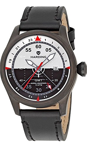 Harding Jetstream GMT Herren Armbanduhr HJ0502 UVP 379EUR