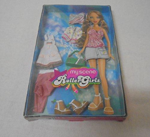 Barbie My Scene Roller Girls Kleider Set
