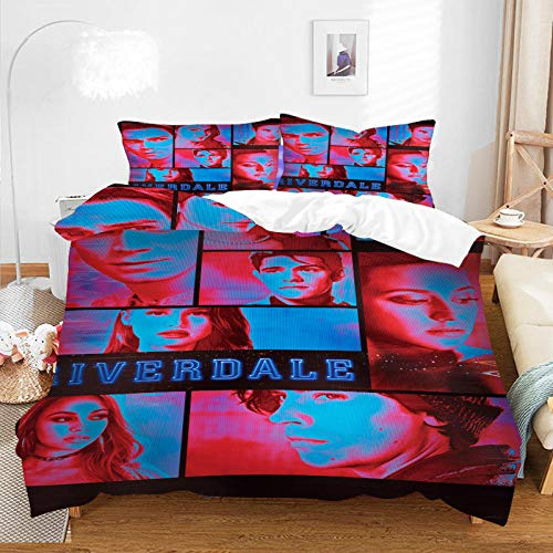 King Size Soft Bedding Set,3D Duvet Cover with Pillow Cover Bedding Set Cartoon Anime One Piece Bed Set for Kids and Adults Bedroom Decor-A-090_200*228cm(3pcs)