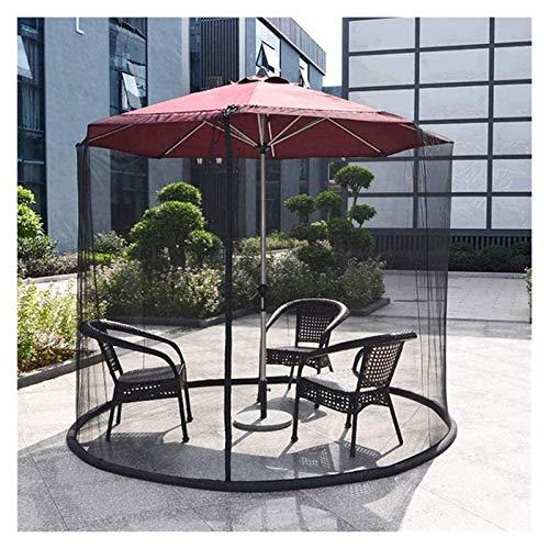 2021 Nuevo Sombrilla de jardín Pantalla de mesa Sombrilla Mosquitera Cubierta de mosquito de jardín al aire libre, Fundas de sombrilla de patio Sombrilla impermeable Fibra de poliéster para sombrilla