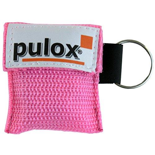 PULOX RESPI-Key Schlüsselanhänger Beatmungsmaske in 6 Farben erhältlich (pink)