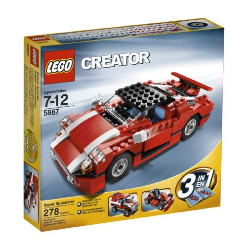 LEGO Creator Red Car (5867) by LEGO