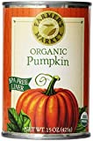 Farmers Market Organic Pumpkin, 15 Ounce (Pack of 8) (Packaging May Vary)