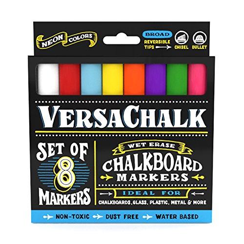 VersaChalk Neon Liquid Chalk Markers for...