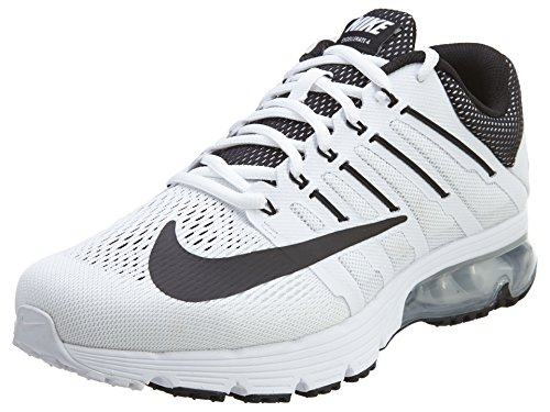 Nike Men's Air Max Excellerate 4 White/Black/White/Pr Platinum Running Shoe 8 Men US