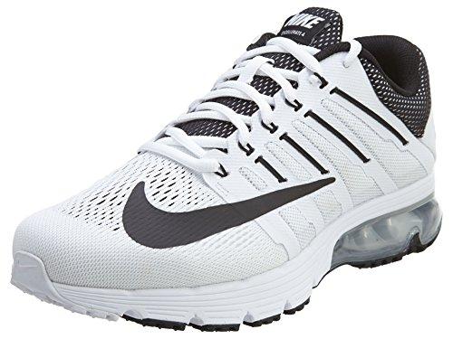 Nike Mens Air Max Excellerate 4 White/Black/White/Pr Platinum Running Shoe 11 Men US