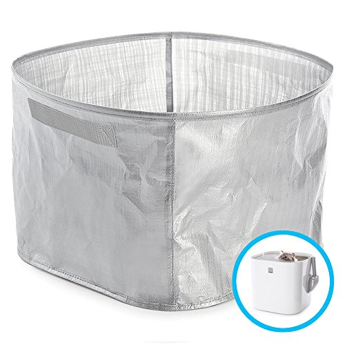 Modkat Litter Box Perfect Fit Reusable Liner with Handles - Gray