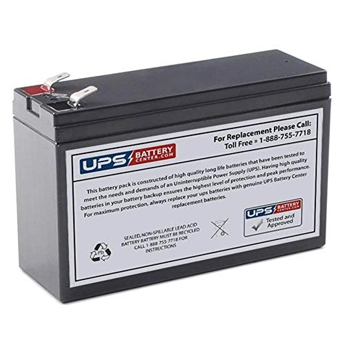 UPS12240-6F2 12V 240W CSB 12V 6.5Ah Compatible Replacement Battery by UPSBatteryCenter