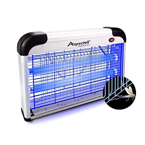 ASPECTEK ZR2PH301-20 Upgraded 20W Electronic Bug Zapper, Insect Killer-Mosquito, M