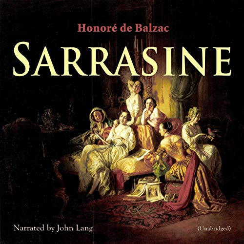 Sarrasine audiobook cover art