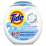 Tide Free and Gentle Laundry Detergent Pods, 81 Count, Unscented and...