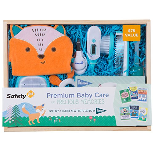 Safety 1st Premium Baby Care And Precious Memories Gift Set, Mul