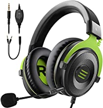 EKSA E900 Wired Stereo Gaming Headset-Over Ear Headphones with Noise Cancelling Mic, Detachable Headset Compatible with PS...