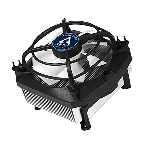 ARCTIC Alpine 11 PRO Rev.2 - Flüsterleiser Prozessorkühler für Intel-CPUs - bis zu 95 Watt Kühlleistung durch 92 mm PWM Lüfter - Schwingungsdämpfende