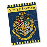 Harry Potter Party Invitations, 8ct