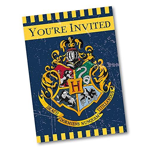 Partyeinladungen - Harry-Potter-Party - 8er-Pack