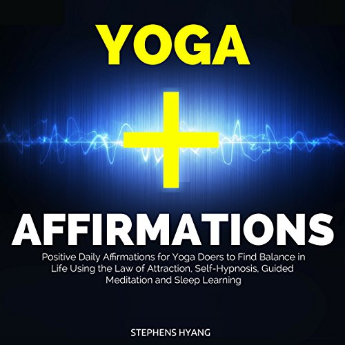Yoga Affirmations audiobook cover art