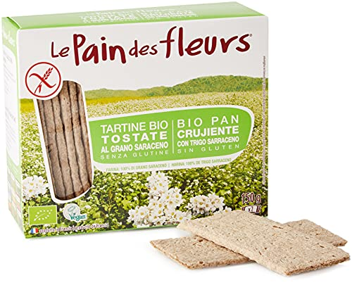 Pain Des Fleurs Tartine Tostate al Grano Saraceno - 150 g
