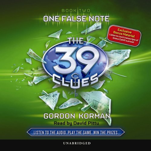 The 39 Clues, Book 2 audiobook cover art