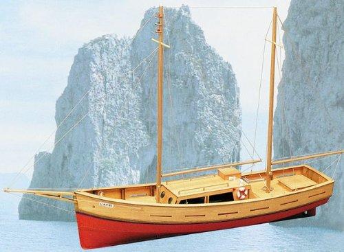 Mantua Model Capri Barca in Kit di Legno da Montare 701