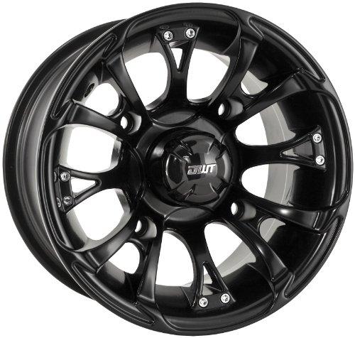 Douglas Wheel Tire 989-30B Nitro Wheel - 12x7-4+3 Offset - 4/136.5 - Black