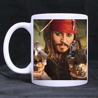 Pirates of The Caribbean on Stranger Tides Anpassad vit mugg kaffekopp 325 ml