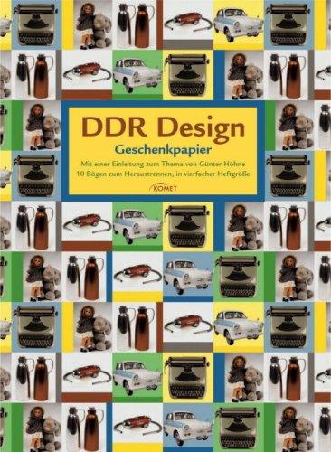DDR Design Geschenkpapier