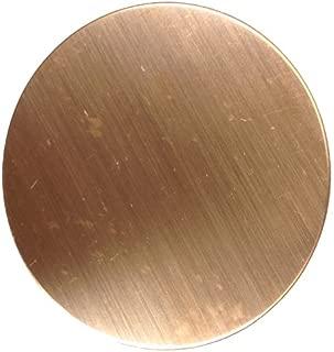 RMP Stamping Blanks, 2-7/8 Inch Round, 16 oz. Copper 0.021 Inch (24 Ga.) - 6 Pack