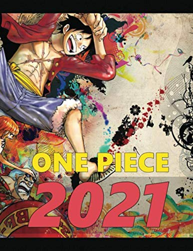 One Piece: Monthly Colorful Anime Calendar, Pictures, Quotes, One Piece, 8.5' x 11', This'll be my year!