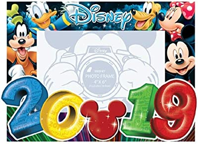 Jerry Leigh Disney 2019 Photo Frame 4x6 Big Numbers Mickey Mouse